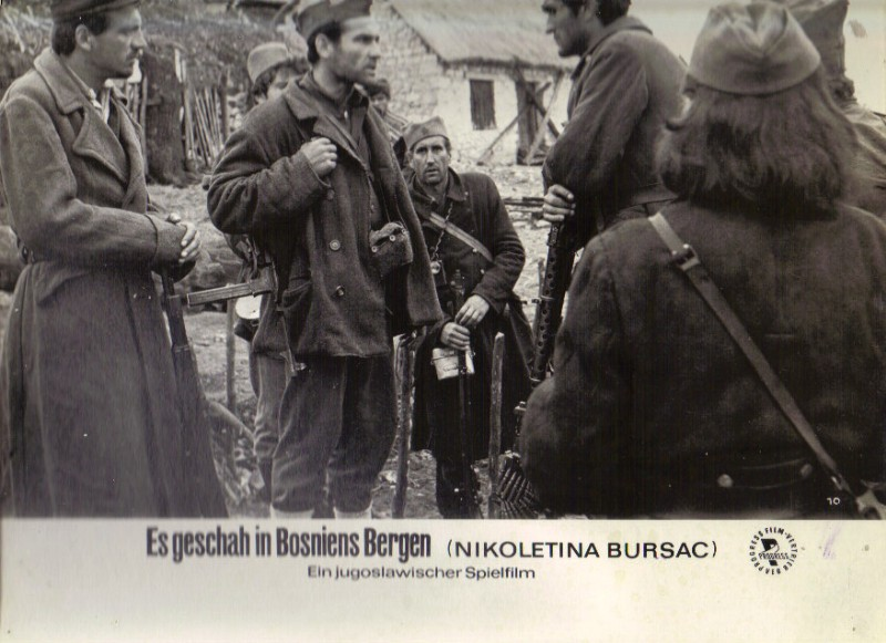 DDR DEFA Kino Aushangfotos Progress Filmverleih Es geschah in Bosniens Bergen P29