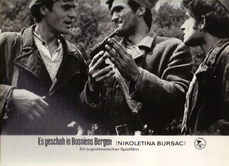 DDR DEFA Kino Aushangfotos Progress Filmverleih Es geschah in Bosniens Bergen P31