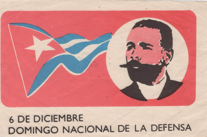 Cuba Kuba Unterstützungszertifikat Nationaler Verteidigungtag