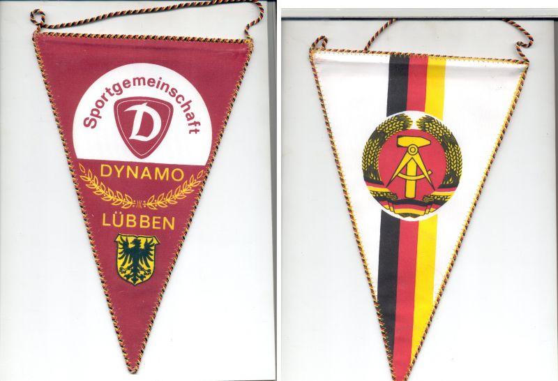 DDR Wimpel Dynamo Lübben MfS