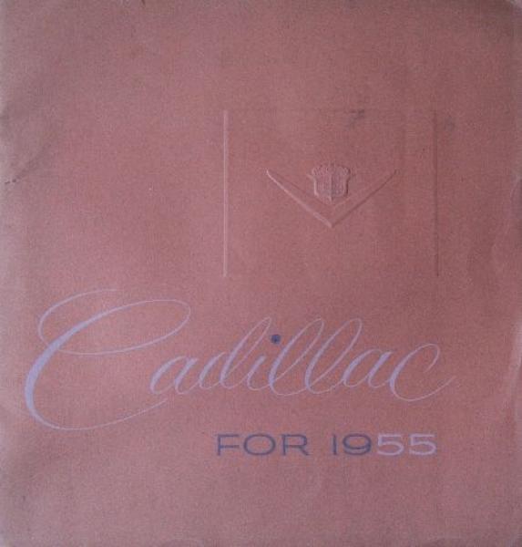 Cadillac Modellprogramm 1955 Prunkkatalog (7786)