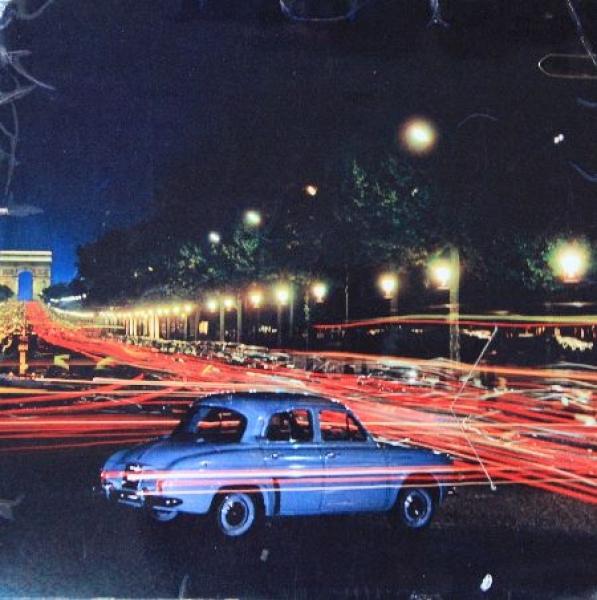 Renault-Renault Modellprogramm Jahreskalender 1960