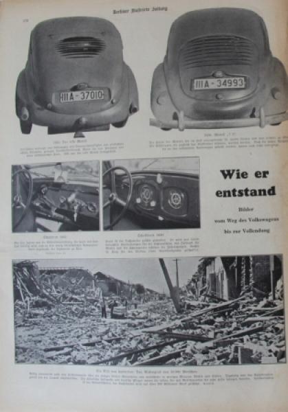 "Volkswagen KdF ""Berliner Illustrierte"" Februar 1939"