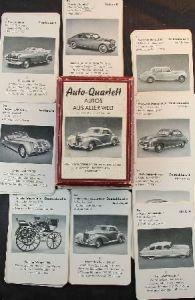 """Altenburger """"Autos aus aller Welt"""" Kartenspiel 1953"""
