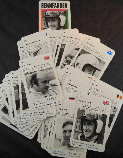 """Piatnik """"Rennfahrer"""" Kartenspiel 1965"""
