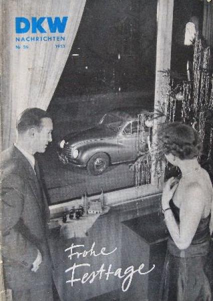 """""""DKW Nachrichten"""" Firmenmagazin 1953"""
