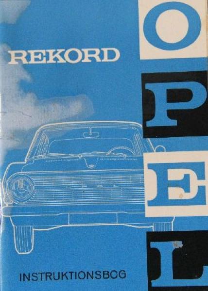 Opel Rekord Betriebsanleitung 1964