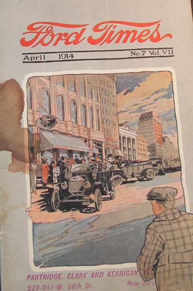 """Ford Times"" Firmen-Magazin 1914"