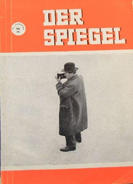 """Spiegel """"Das Volkswagenwerk"""" VW-Historie 1951"""