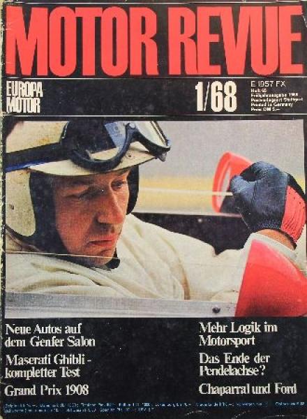 """""""Motor Revue"""" Zeitschrift 1968"""