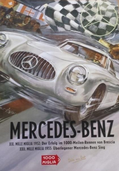 Wiking-Mercedes-Wiking Mercedes Benz Sonderedition Mille Miglia 1955 in Originalbox