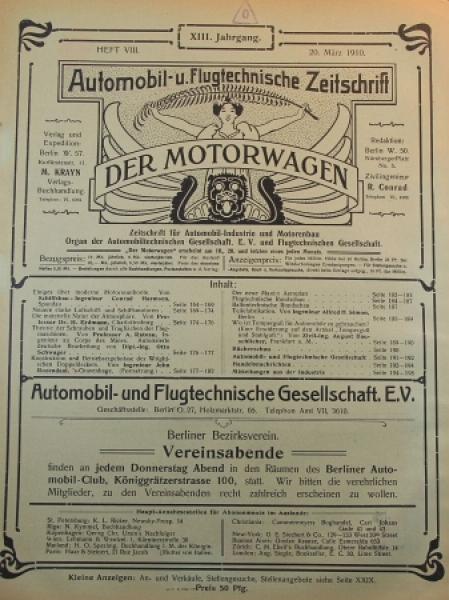 Der Motorwagen\