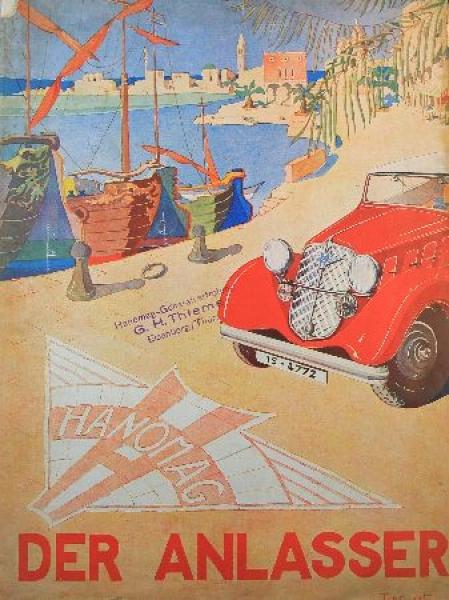 """Hanomag """"Der Anlasser"""" Firmen-Zeitschrift 1934"""