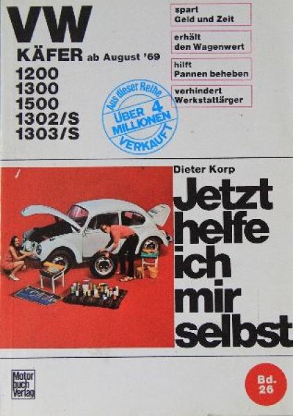 "Korp ""VW Käfer - Jetzt helfe ich mir selbst"" Band 26 - 1970"