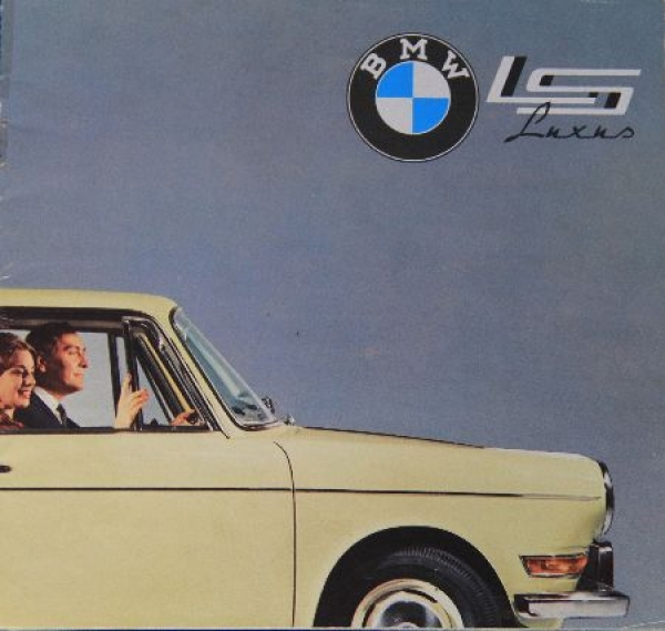 BMW 700 Luxus 1962 Automobilprospekt