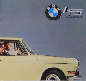 BMW 700 Luxus 1962 Automobilprospekt