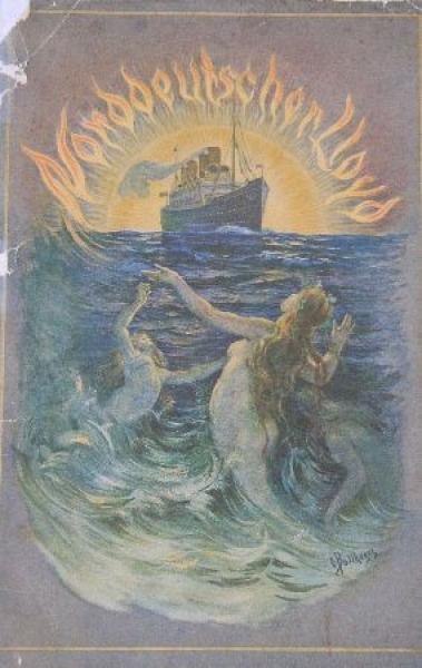 Norddeutsche Lloyd Imagebrochure 1910 Schiffsprospekt