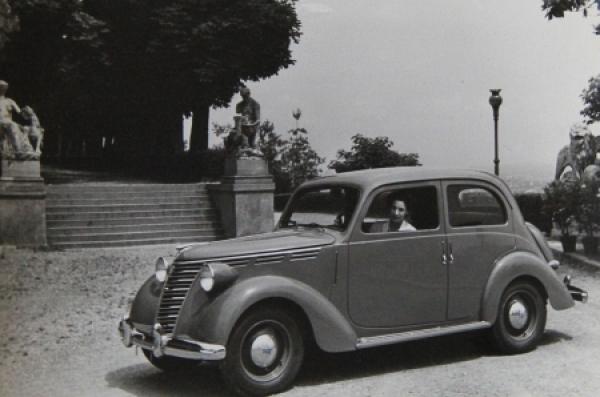 Fiat 1100 Limousine 1938 Werksphoto