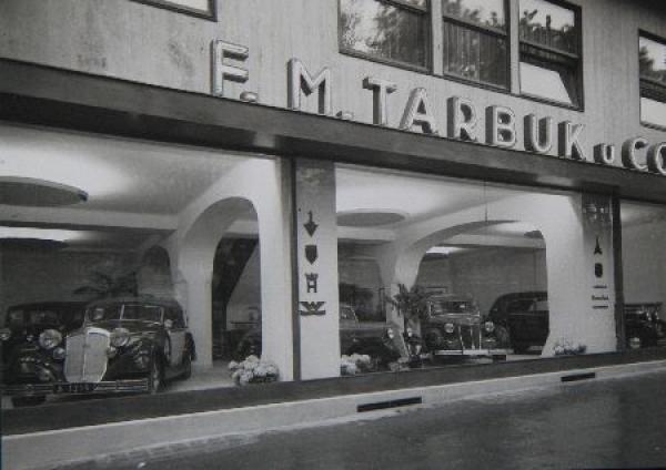 Auto-Union Werksfoto Tarbuk Wien 1938