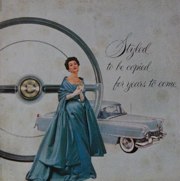 Cadillac Mailer 1954 Automobilprospekt