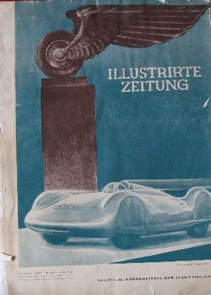 """""""Illustrierte Zeitung"""" Sonderausgabe der Auto-Union 1938"""