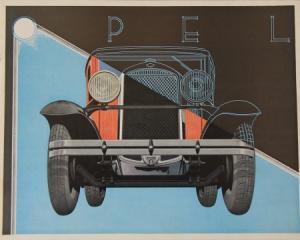 Opel Modellprogramm 1935 Automobilprospekt