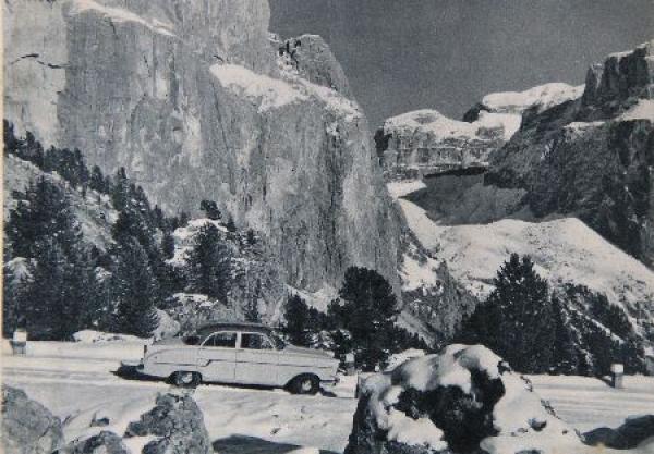 Opel Rekord Modellprogramm 1956 Automobilprospekt