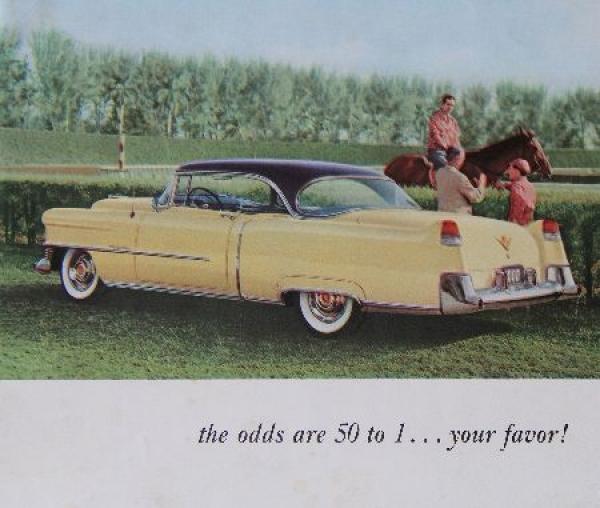 Cadillac Mailer 1955 Automobilprospekt