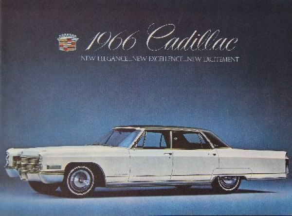 Cadillac Modellprogramm 1966 Automobilprospekt