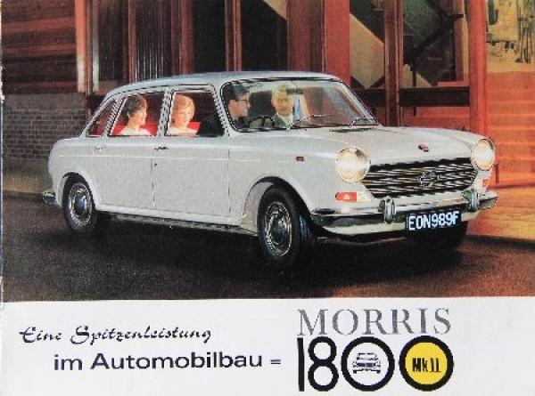 Austin Morris 1800 MK II - 1968 Automobilprospekt