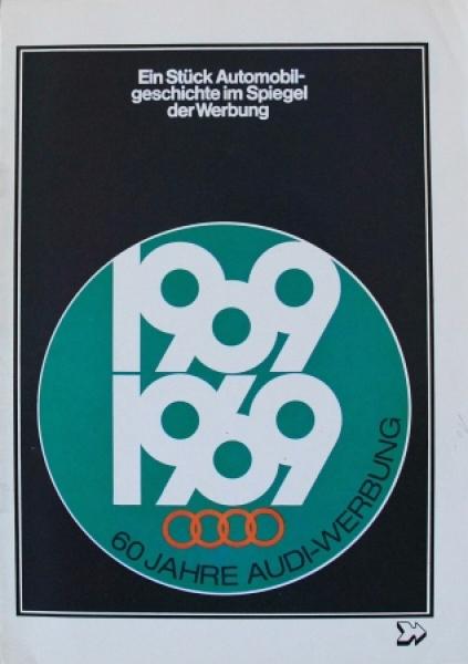 """NSU """"Ein Stück Automobilgeschichte im Spiegel der Werbung"""" 1969 Automobilprospekt"""