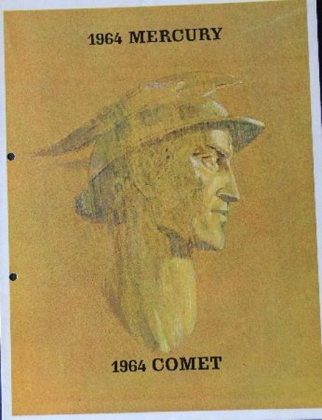 Ford Mercury Comet 1964 Automobilprospekt