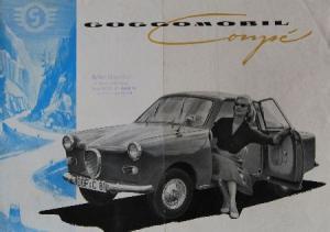 Glas Goggomobil Coupe 1958 Automobilprospekt