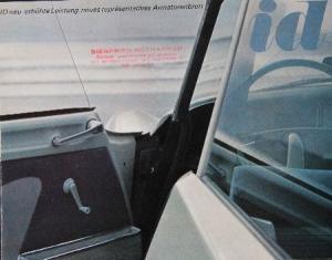 Citroen ID Modellprogramm 1964 Automobilprospekt