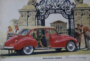 DKW Auto Union 1000 S 1956 Automobilprospekt