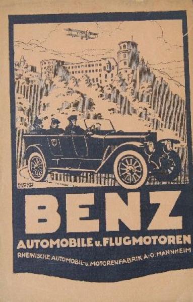 Benz Automobile 1914 Automobilprospekt Nr 8900 Oldthing Pkw