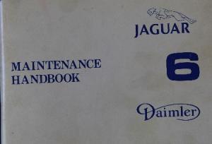 Jaguar/Daimler Six Betriebsanleitung 1980