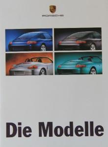 Porsche Modellprogramm 1998 Automobilprospekt