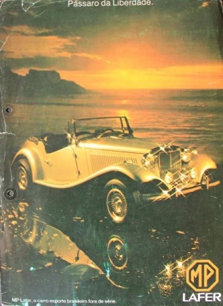 MP Lafer Modellprogramm 1978 Automobilprospekt