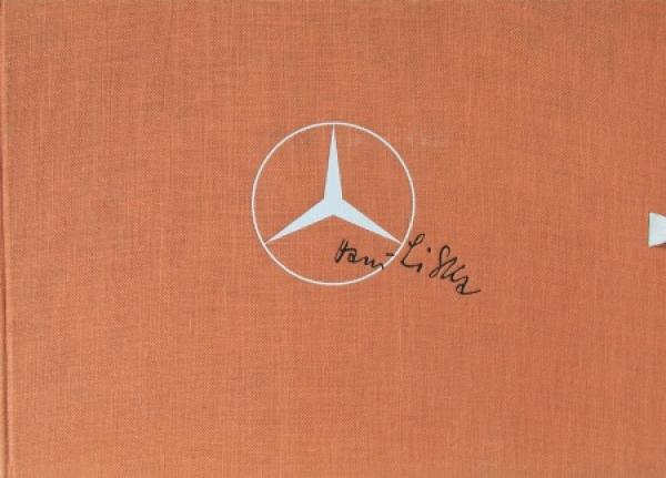 Mercedes-Benz Mappe mit Zeichnungen von Hans Liska 1955