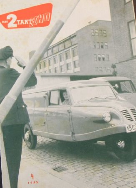 "Goliath ""2 Takt Echo"" Magazin 1955"