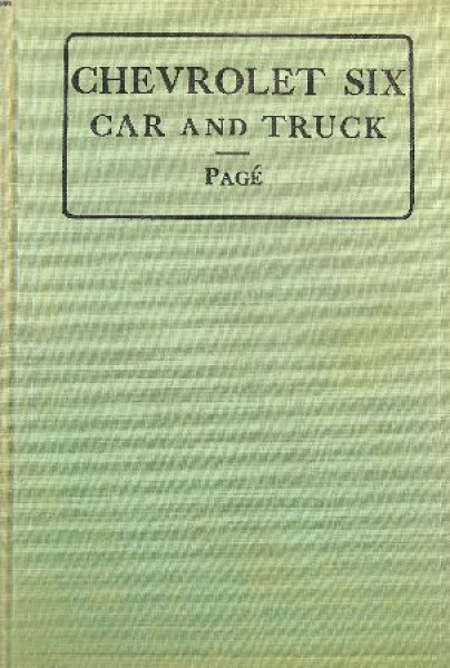 """Page """"Chevrolet Six Cars and Trucks"""" Reparaturhandbuch 1932"""