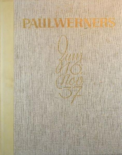 """Paul Werner zum 60. Geburtstag"" Büssing-NAG 1937"