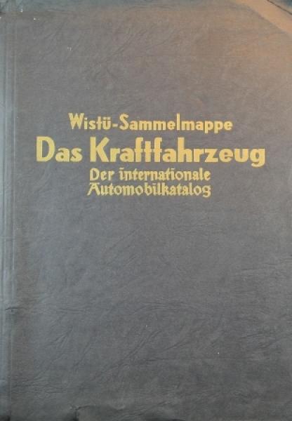 """Wistü """"Das Kraftfahrzeug"""" Fahrzeug-Sammelalbum 1954"""