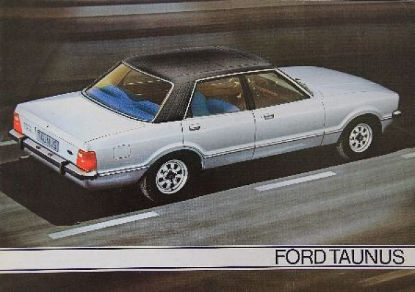 Ford Taunus Modellprogramm 1979 Automobilprospekt