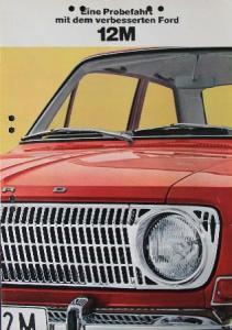 Ford Taunus 12 M 1966 Automobilprospekt