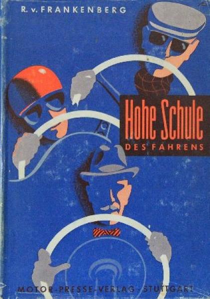 """Frankenberg """"Hohe Schule des Fahrens"""" Motorsport 1961"""