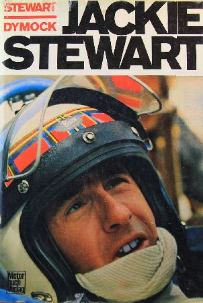 """Dymock """"Jackie Stewart"""" Rennfahrerbiographie 1972"""