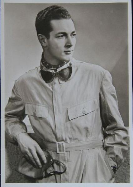 Hugo Hartmann Autogrammkarte 1955