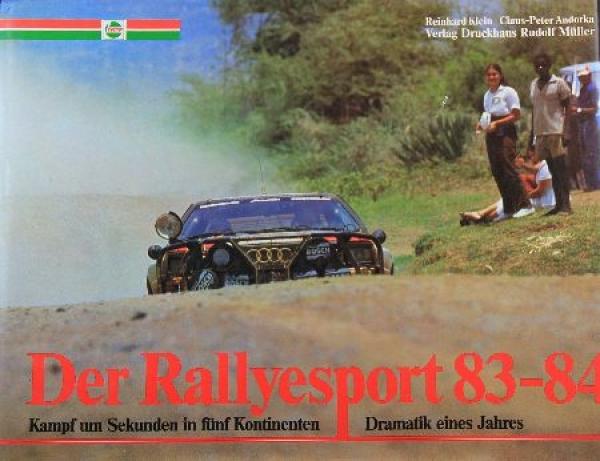 """Klein """"Der Rallyesport 83-84"""" Rallyesport-Jahrbuch 1983"""